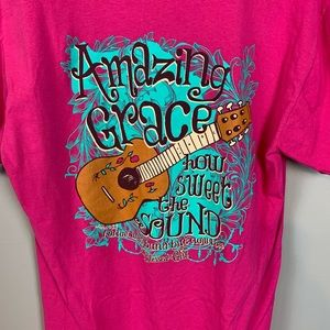 Blessed Girl T-shirt/Amazing grace pink size M
